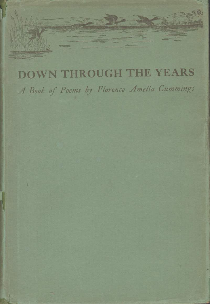 Image for DOWN THROUGH THE YEARS:  A Book of Poems