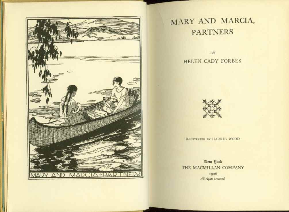 Image for MARY AND MARCIA, PARTNERS