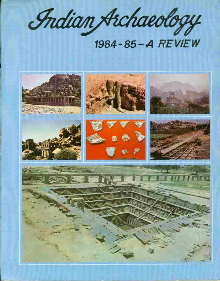 Image for INDIAN ARCHAEOLOGY 1984-85 A Review