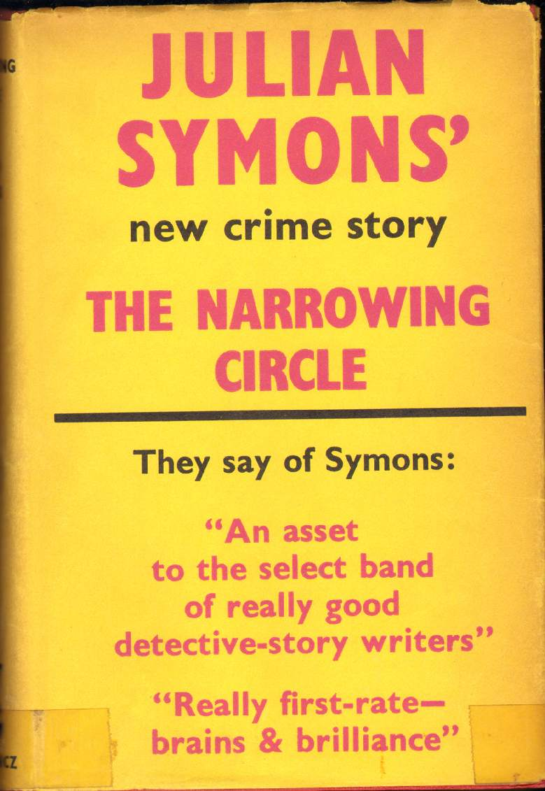Image for THE NARROWING CIRCLE A Crime Novel