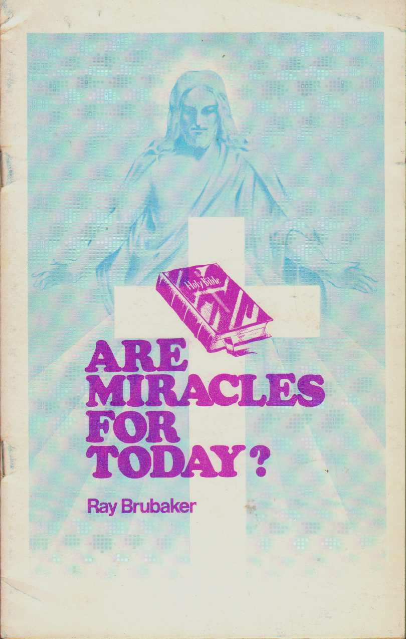 Image for ARE MIRACLES FOR TODAY?