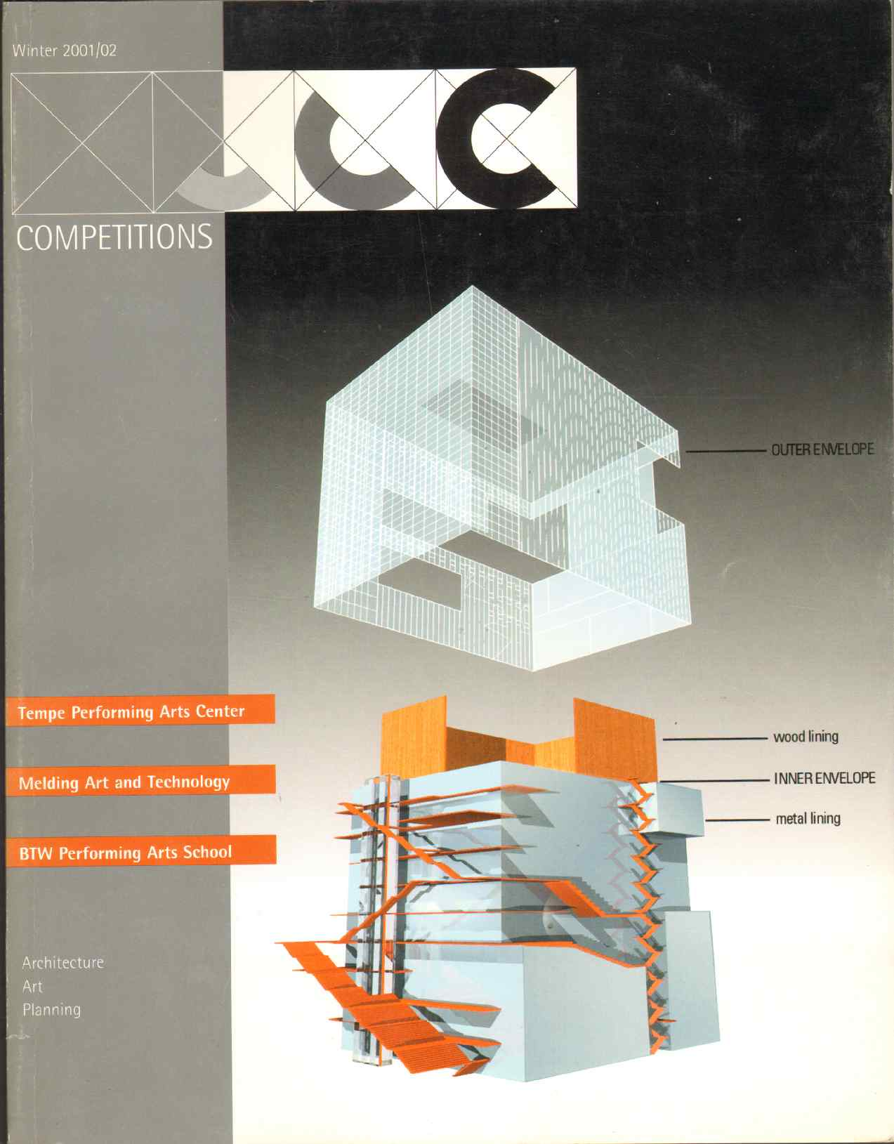 Image for COMPETITIONS - Architecture, Art, Planning - Winter 2001/2002 Volume 11, Number 4