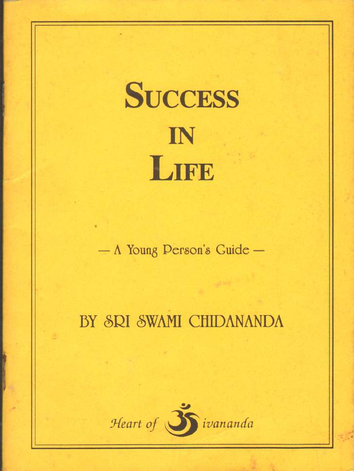 Image for SUCCESS IN LIFE A Young Person't Guide