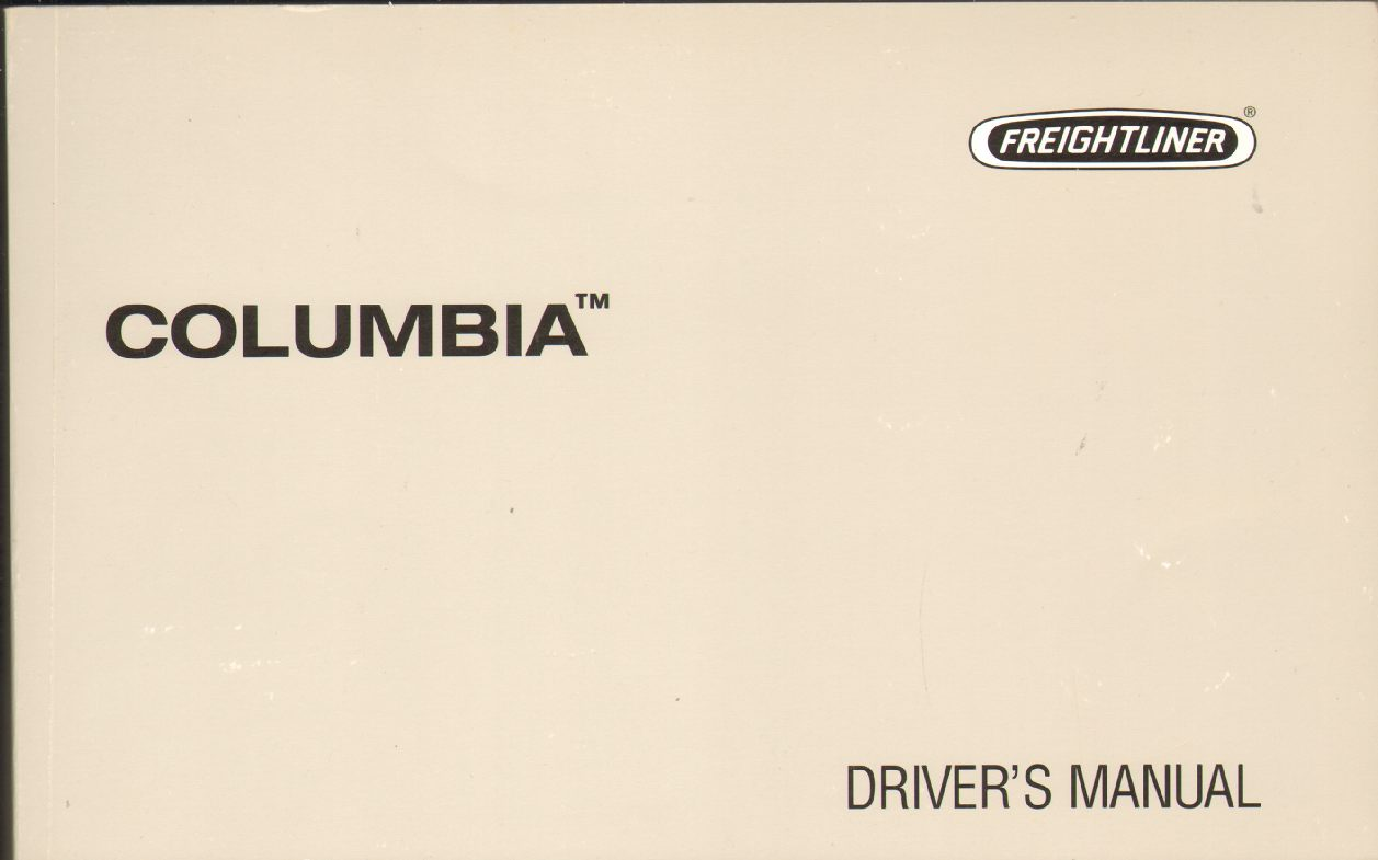 Image for COLUMBIA Driver's Manual