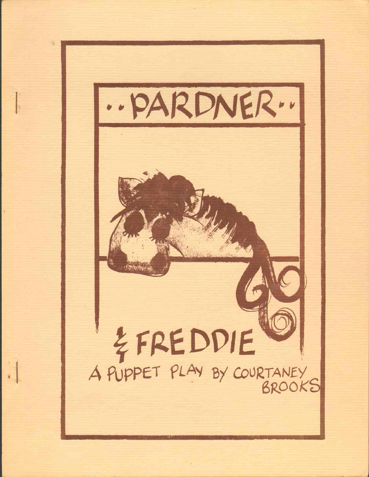 Image for PARDNER AND FREDDIE A Puppet Play