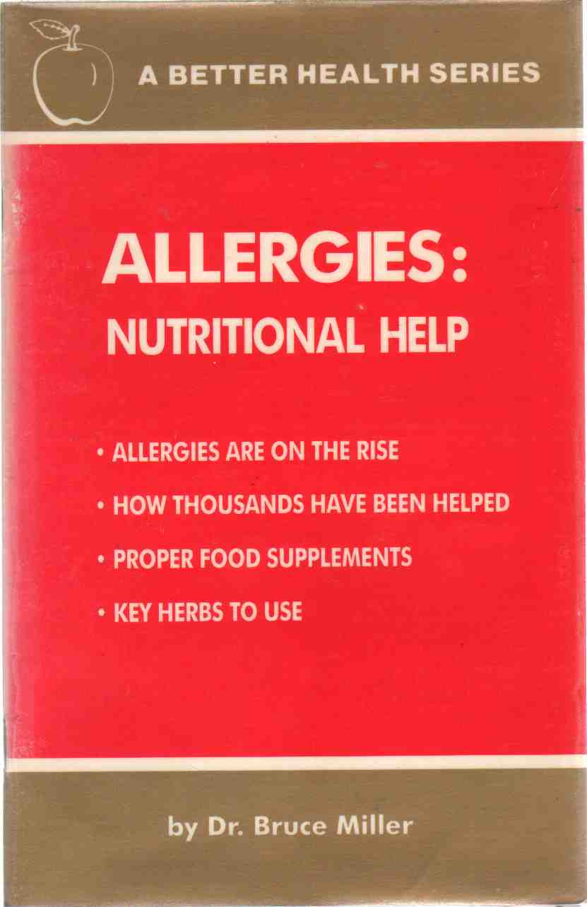 Image for ALLERGIES:  Nutritional Help
