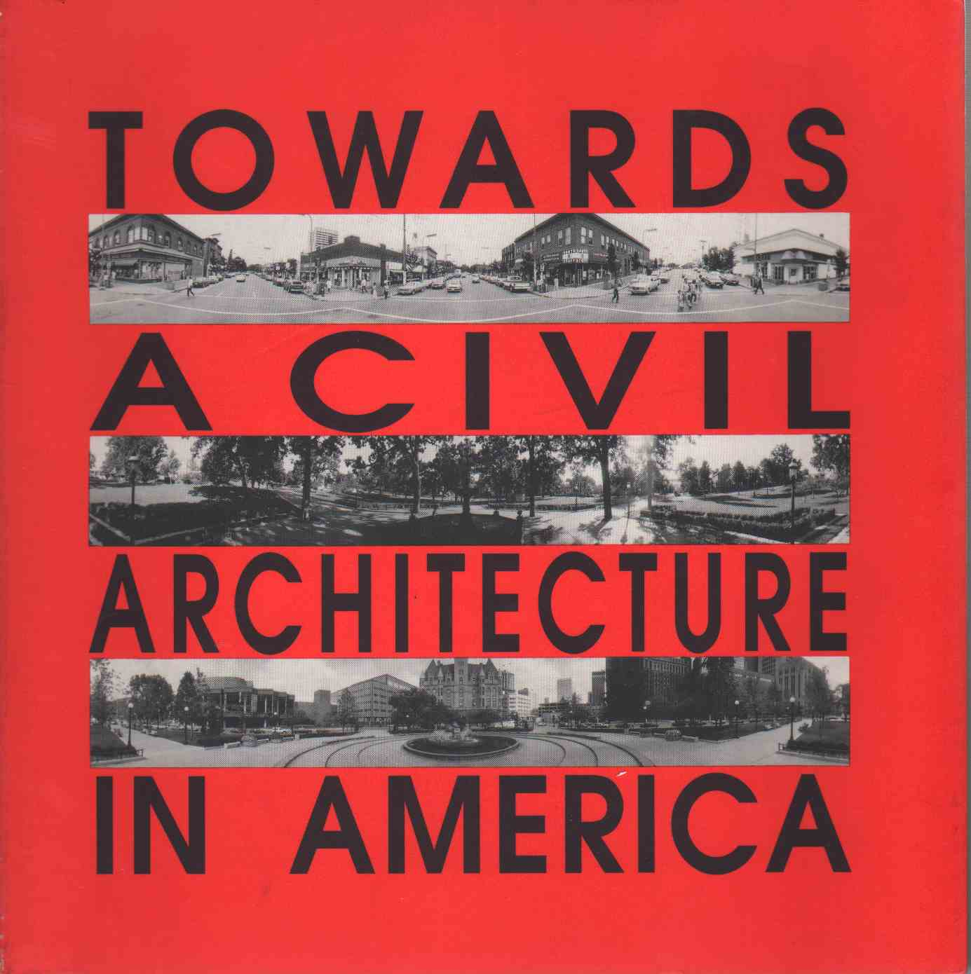 Image for TOWARDS A CIVIL ARCHITECTURE IN AMERICA Modulus 23