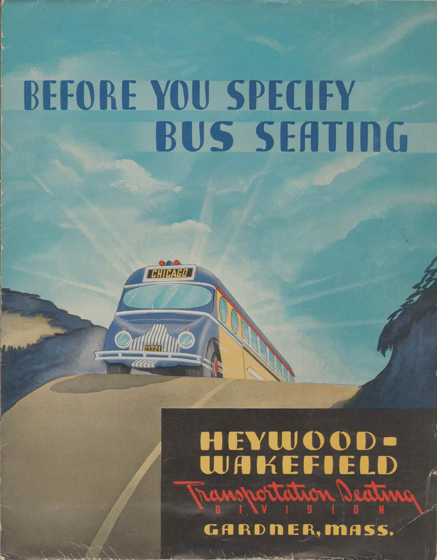 Image for BEFORE YOU SPECIFY BUS SEATING
