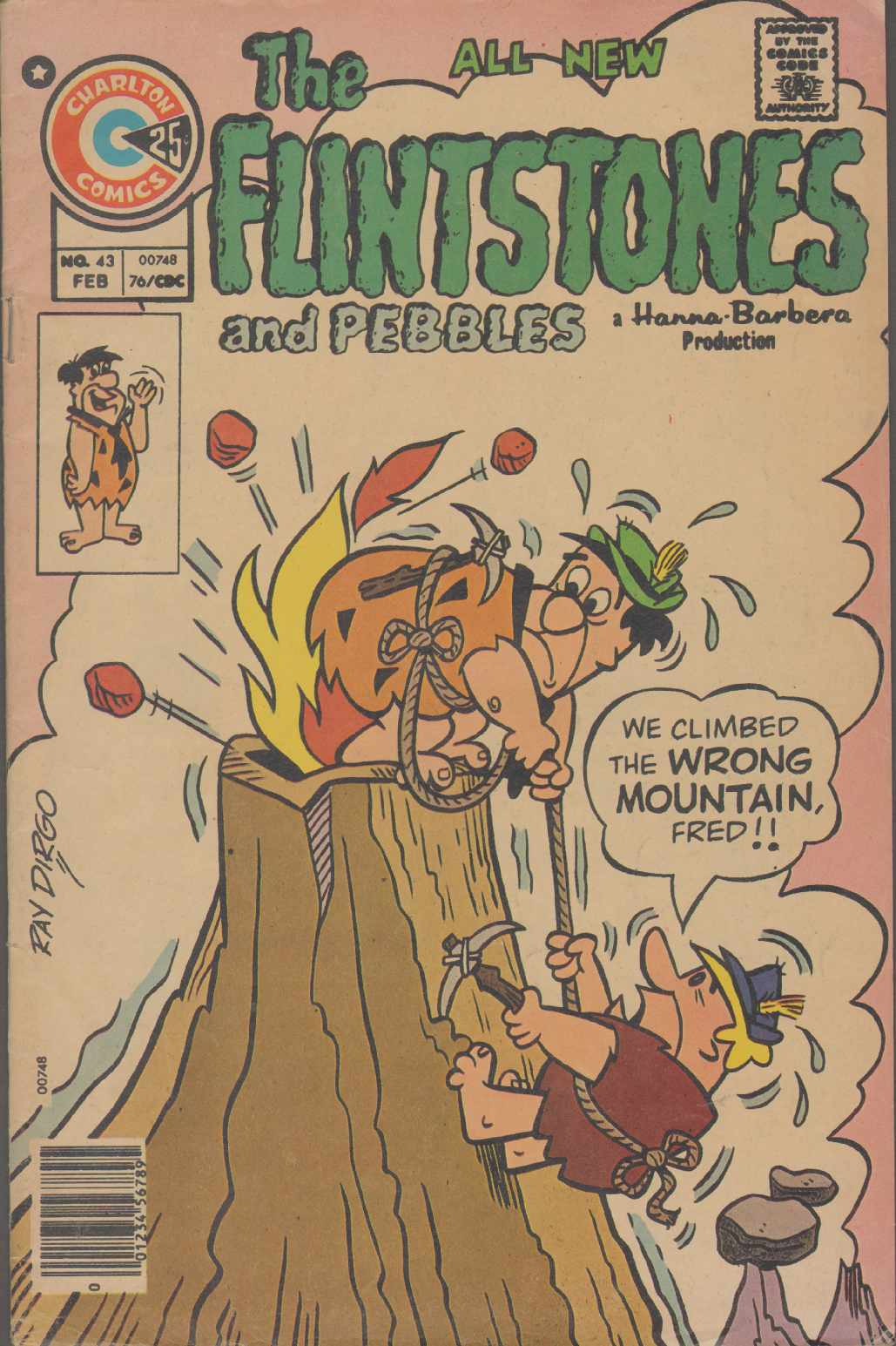 Image for THE ALL NEW FLINTSTONES And Pebbles Vol. 7, No. 43 February 1976