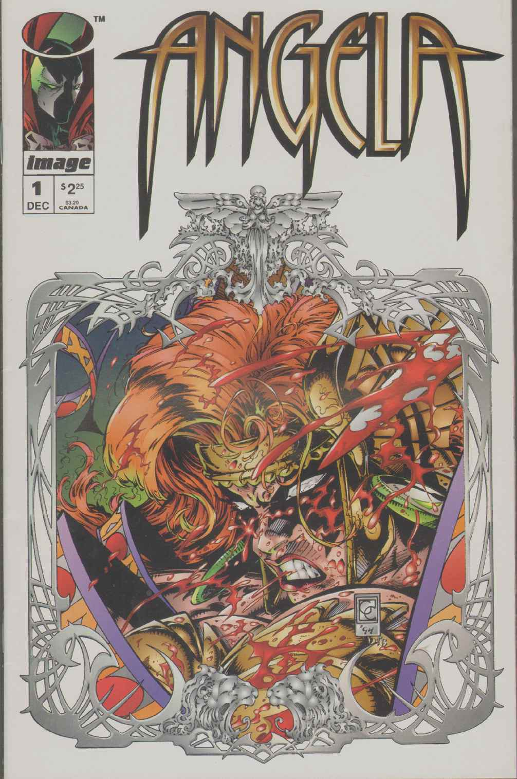 Image for ANGELA  (1994) #1 Does Not Include Pinup.