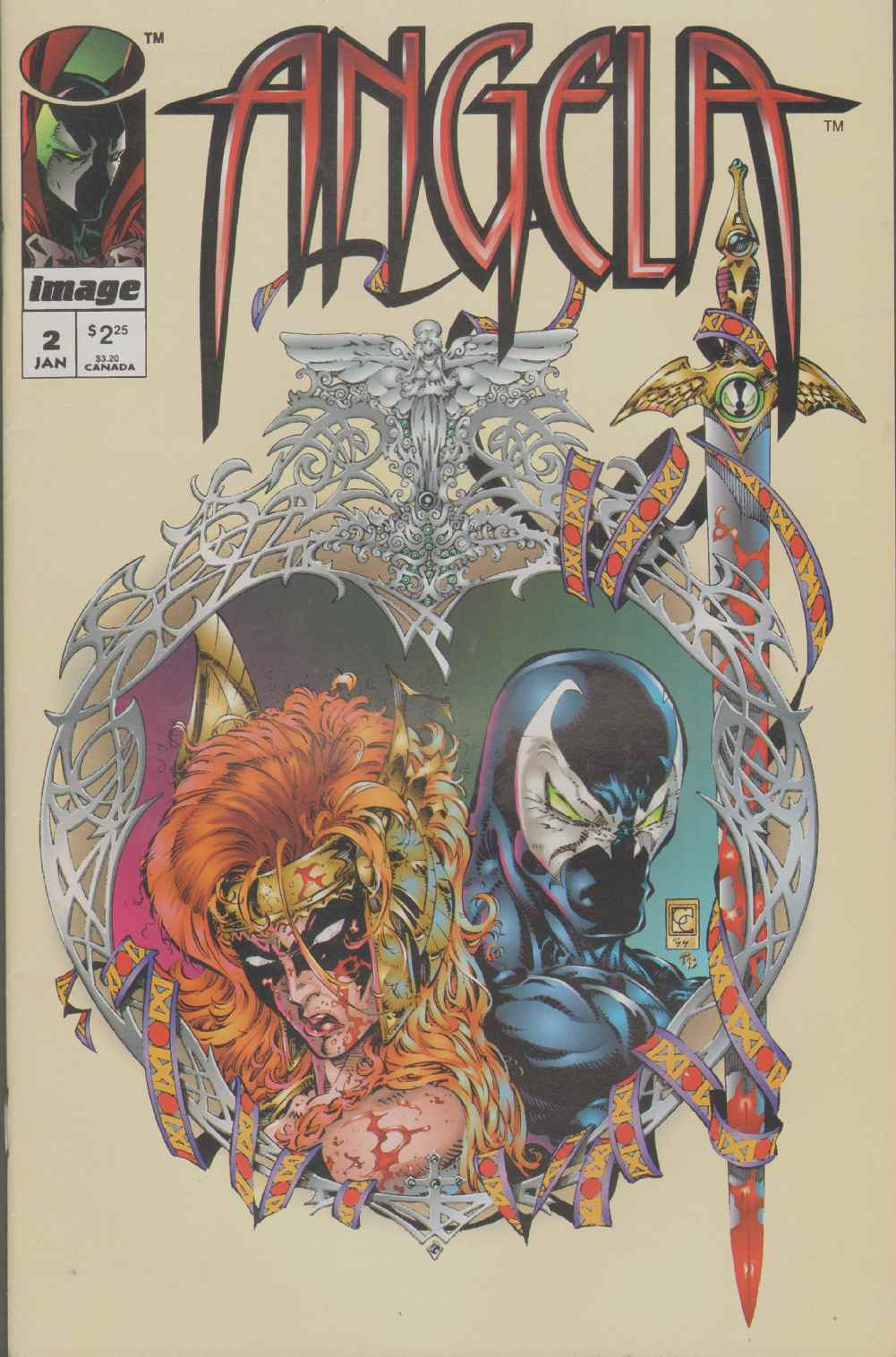 Image for ANGELA  (1995) #2 Does Not Include Pinup.