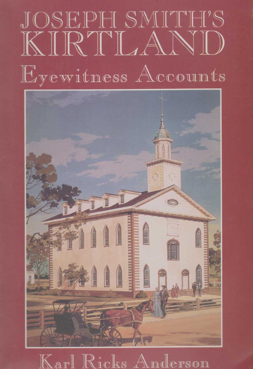 Image for JOSEPH SMITH'S KIRTLAND Eyewitness Accounts