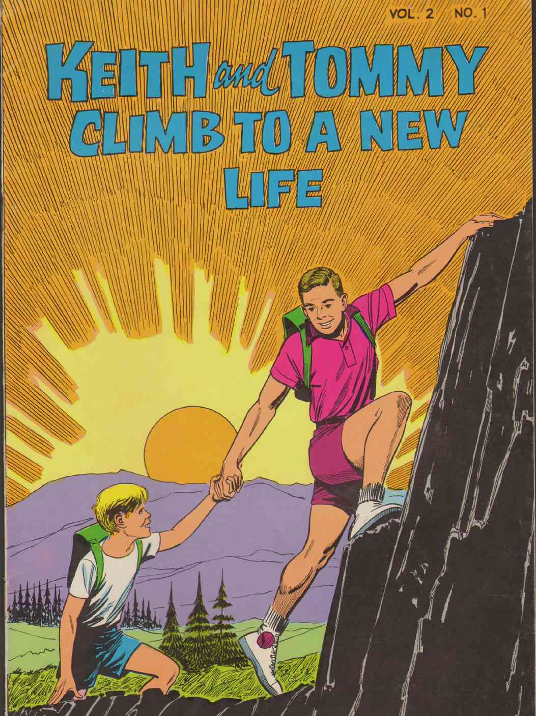 Image for KEITH AND TOMMY CLIMB TO A NEW LIFE Vol. 2 No. 1