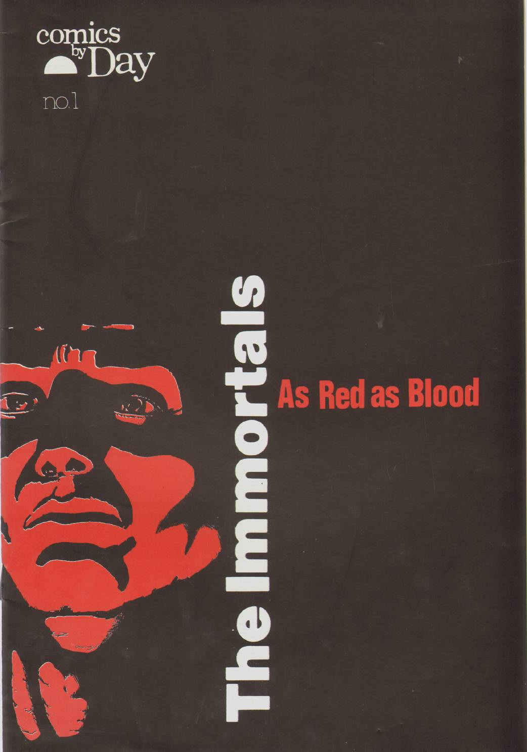 Image for THE IMMORTALS AS RED AS BLOOD NO. 1