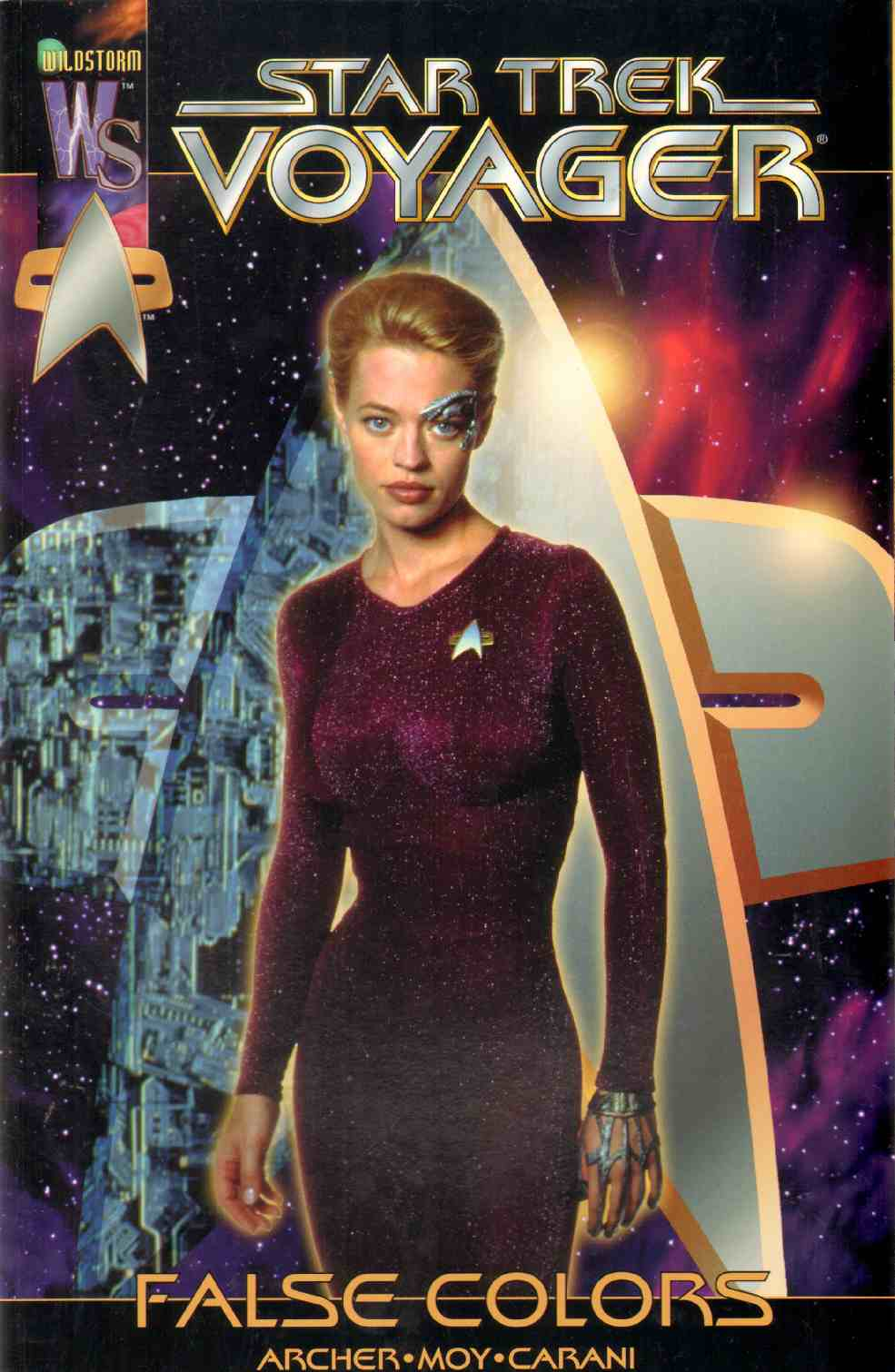Image for STAR TREK VOYAGER False Colors