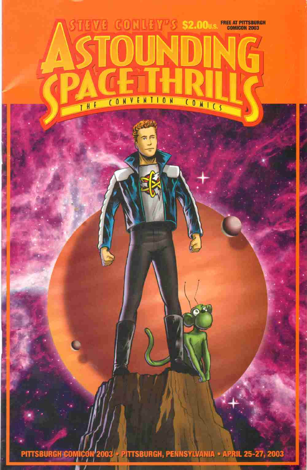 Image for STEVE CONLEY'S ASTOUNDING SPACE THRILLS The Convention Comics No. 2