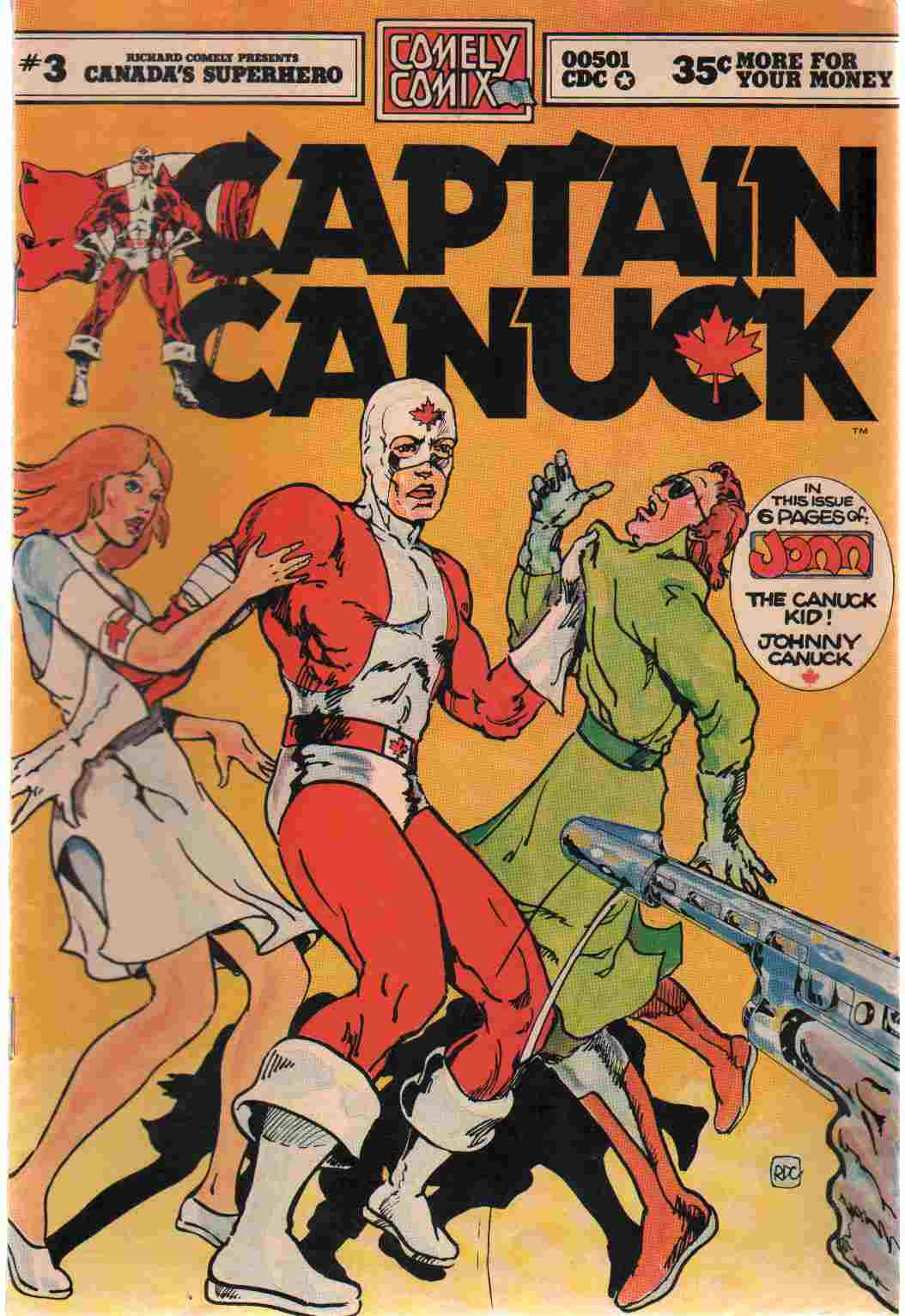 Image for CAPTAIN CANUCK NO 3