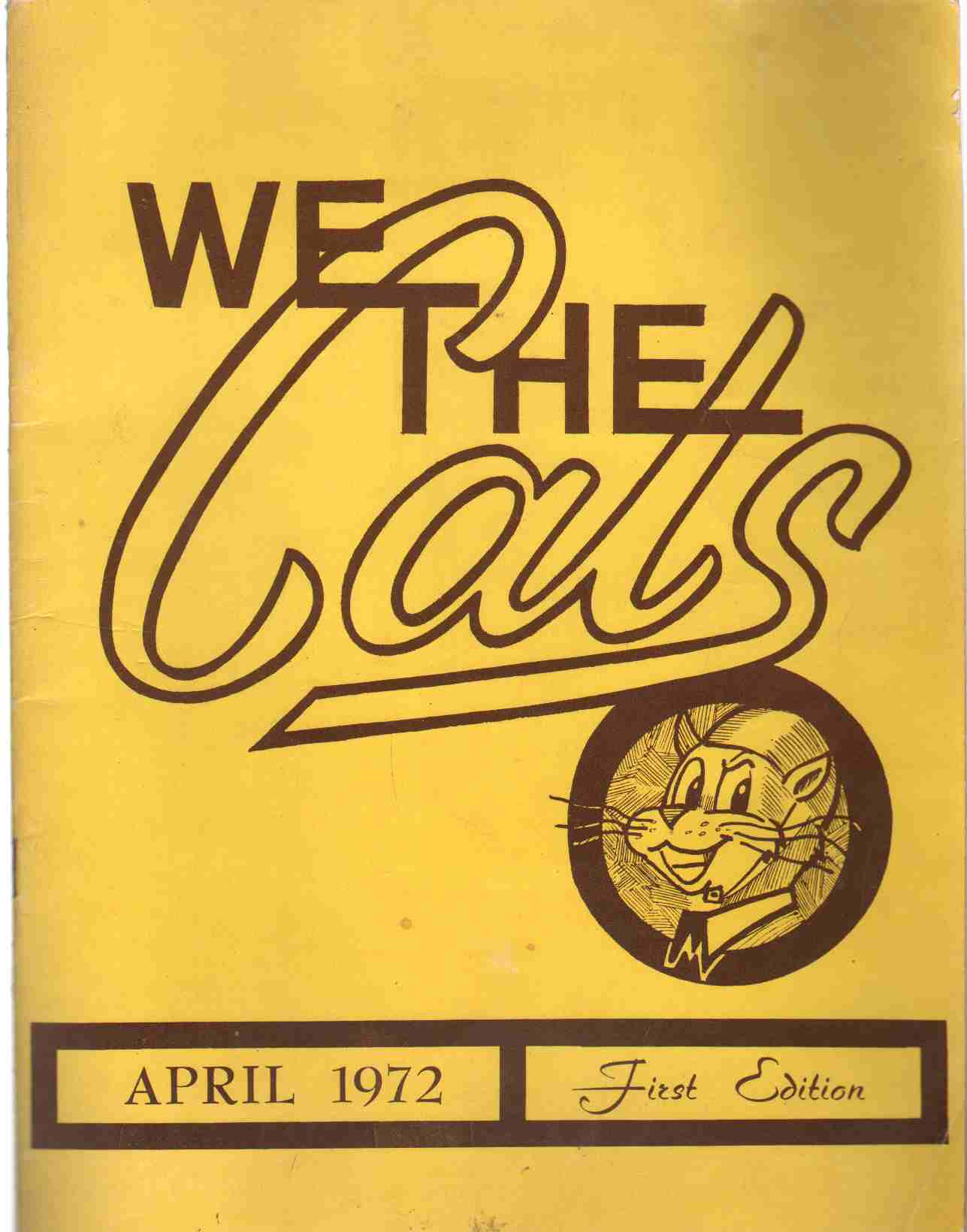 Image for WE THE CATS April 1972